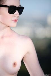 engaging brunette black bodysuit