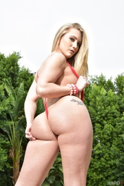 small titted blonde red