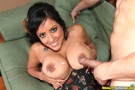 babe, big tits, stockings, sucking