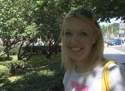 blonde vixen white t-shirt
