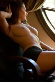 cute naughty brunette girl