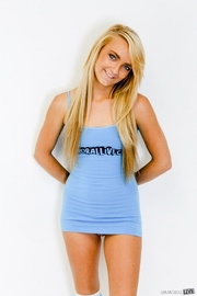 lusty blonde hot blue
