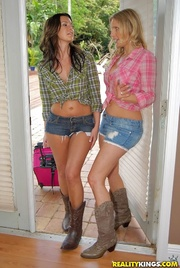 playful lookers plaid tops