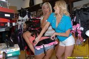 three passionate milfs enjoy