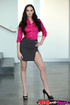 Striking MILF does her step-daughter's teen boyfriend and allows the