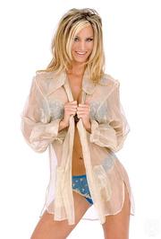 blonde model lets see