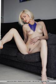 slim pretty nude blonde