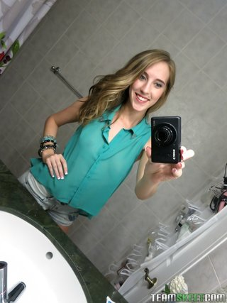 straight amateur teen young