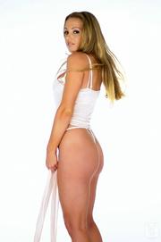 alluring blonde white sexy