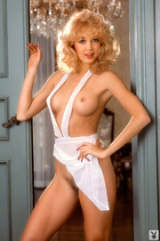 beautiful vintage blonde white