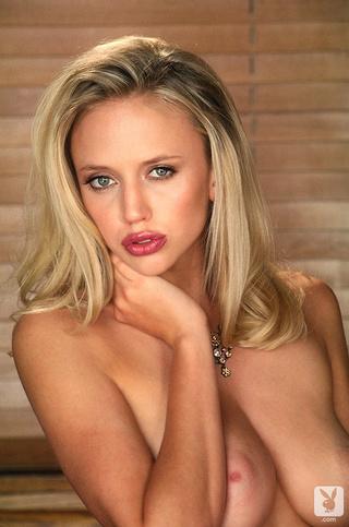 blonde big natural tits