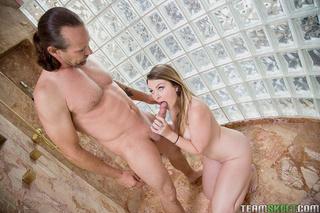 young gal seduced man