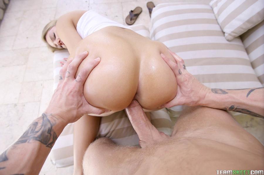 Bubble butt ass naked