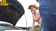 hot hitchhiker loses her