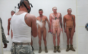 naked recruits tortured with