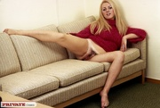 steaming hot blonde shows