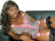 ebony girl with big