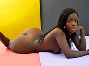 ebony teen with nice