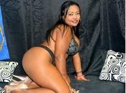 latin girl with big