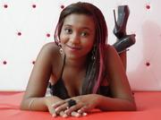ebony teen with big