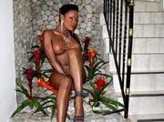 ebony girl with big