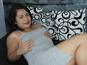 latin teen with big
