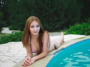 asian teen with big