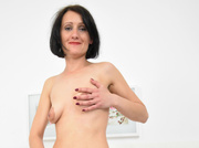 white milf with small