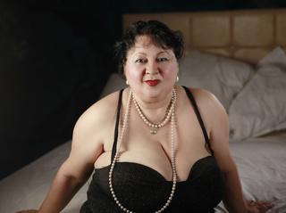 white granny big tits