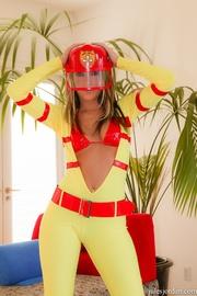 naughty firefighter her knees