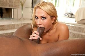 Naughty blonde nurse with big tits enjoy - XXX Dessert - Picture 19