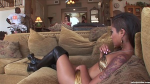 Naughty raven and her friends fucked har - XXX Dessert - Picture 12