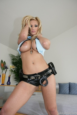 Naughty cop with big tits gives a life c - XXX Dessert - Picture 8