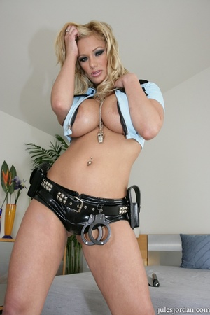 Naughty cop with big tits gives a life c - XXX Dessert - Picture 9