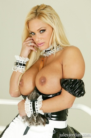 Horny blonde maird with big tits gets a  - XXX Dessert - Picture 2