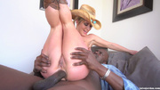 cock hungry cowgirl gets