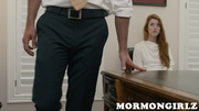 mormon redhead babe getting