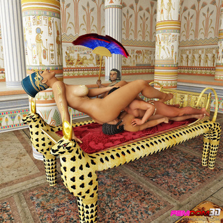 egyptian queen pussy boobs