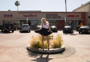 Blonde jezebel in a black skirt proffers - XXX Dessert - Picture 6