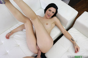 red-nailed stunner enjoying pussy