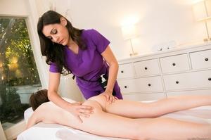 Yummy big breasts masseuse enjoys making - XXX Dessert - Picture 2