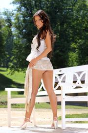 wonderful brunette country girl