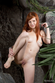 adorable redhead with delicious