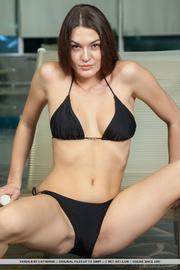gorgeous brunette black sexy
