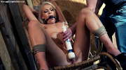 horny nude blonde