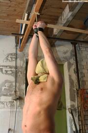 horny dude black tied