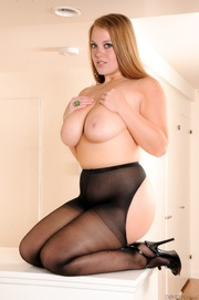 chubby blonde gal crotchless