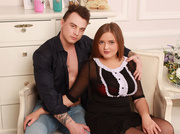 white young couple adonisloveclio