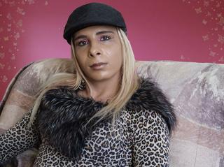 white transgender abbyshemale dancing