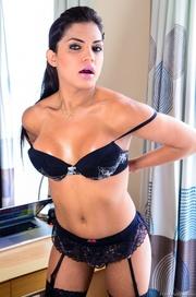 dark haired trannies lingerie